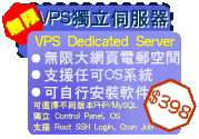 無限VPS獨立伺服器 Unlimited VPS Server Hosting